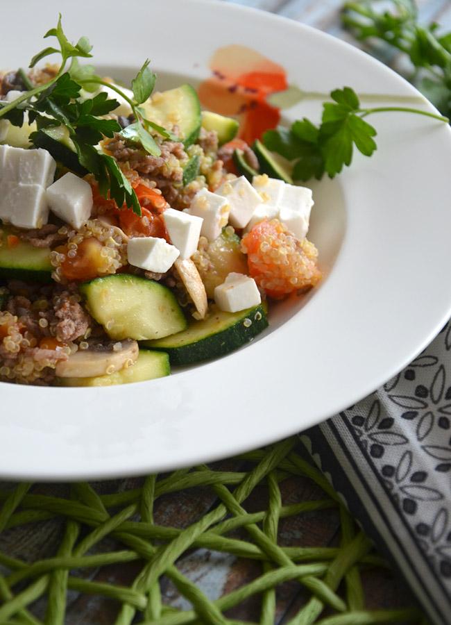 Quinoa-Pfanne