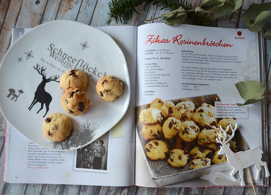 Rosinenkekse aus Omas Weihnachtsbäckerei