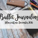 Plan with me December 2016 [VLOG]