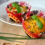 Mini Frittata mit Paprika