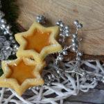 [Weihnachtsbäckerei] Gefüllte Holundersterne