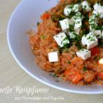 Schnelle Reispfanne mit Hirtenkäse <br/> und GEFRO Balance*