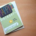 Geburtstagskarte mit Project Life (SU!)