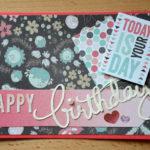 Geburtstagskarte X