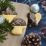 Zitronenplätzchen mit Zartbitterschokolade