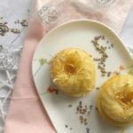 Luftige Zitronengugl mit Vanille