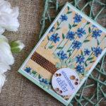 """Geburtskarte """"Blumenmeer"""""""