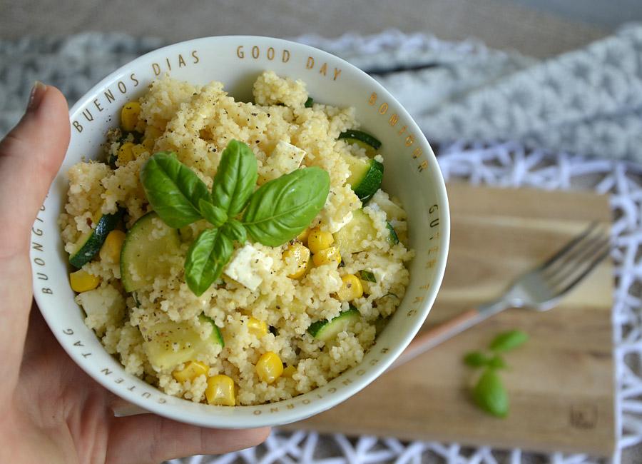 Couscous mit Zucchini