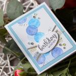"""Geburtstagskarten """"Bubbles"""""""