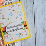 "Geburtstagskarte ""Konfettiparty"""