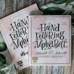 Handlettering Alphabete ~ Schritt für Schritt zur eigenen Schönschrift
