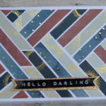 "Grußkarte ""Hello Darling"""