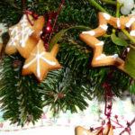 Essbare Weihnachtsgeschenkanhänger