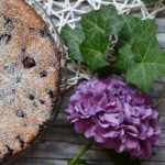 Sauerkirschkuchen mit Ricotta und Zimt