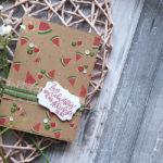 """Geburtstagskarte """"Melonenparty"""""""