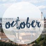 Meine Highlights im Oktober 2017