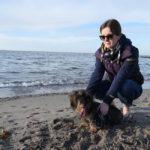 Mit Hund an der Ostsee