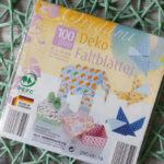 100 Deko-Faltblätter 15x15cm - 3€