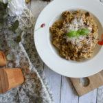Cremiges Pilzrisotto mit Parmesan