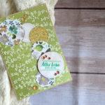"Geburtstagskarte ""Blütenreigen"""
