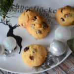 Saftige Rosinenkekse mit Chocolate Chunks