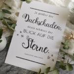 Handlettering: Blick auf die Sterne [+Print!]