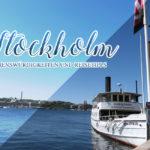 Stockholm calling ~ Sehenswürdigkeiten