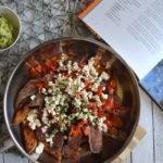 Carne Asada mit Kartoffelspalten