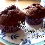 Double Choc Cupcakes