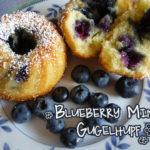 Blaubeer-Mini-Guglhupfe