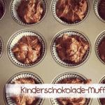 Kinderschokoladen-Muffins