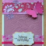 Geburtstagskarte VII