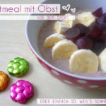 Oatmeal mit Obst
