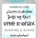 Typography love ~ volume #01