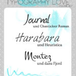 Typography love ~ volume #07