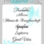 Typography love ~ volume #06