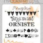 Typography love ~ volume #03