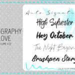 Typography Love ~ volume #22