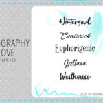 Typography Love ~ volume #23